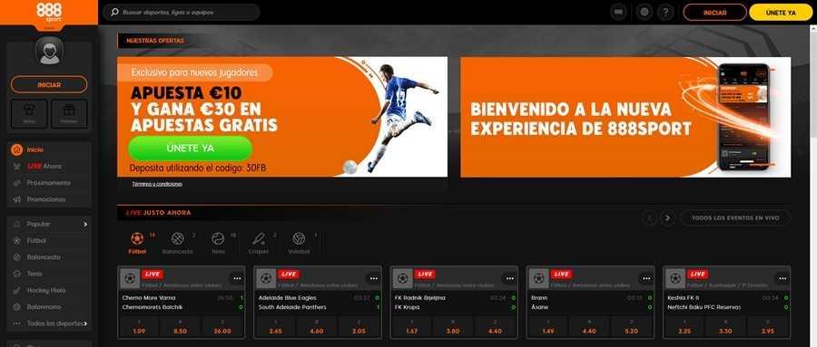 Como registrarse en 888Sport Mexico