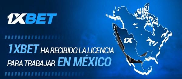 1xBet licencia México
