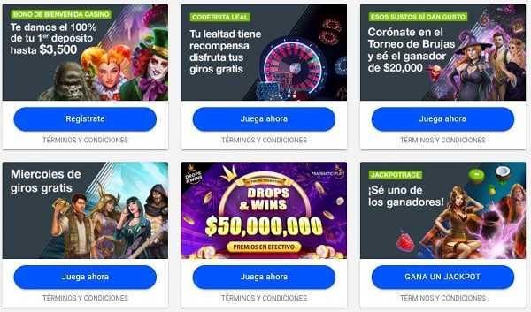 Promociones de casino online