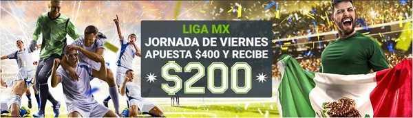 Codere promociones Liga MX