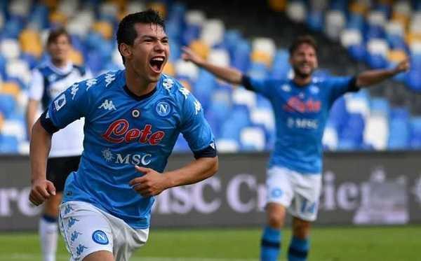 Chuky Lozano Napoli