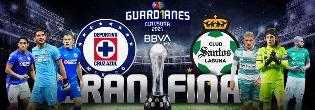 final ida liga mx 2021 Monterrey y Santos
